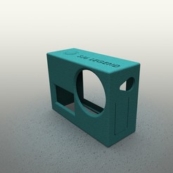 render.JPG Download free STL file Camera Case: SJCAM SJ6 Legend - for flexible material V2 • 3D printing object, anlosay