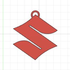 Download STL Suzuki keychain, carlosgm8cg