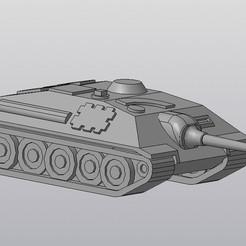 Download 3D printer model Tank E-25 (WOT), Lucker55