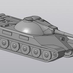 Download STL Tank T-22 medium (WOT), Lucker55