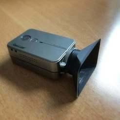 IMG_5103_ret.jpg Download free STL file RunCam2 Lenshood • 3D printing template, willie42
