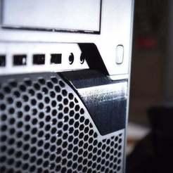 Télécharger fichier imprimante 3D gratuit Fuji Esprimo P900 - Petite couverture - Pièce de rechange, willie42