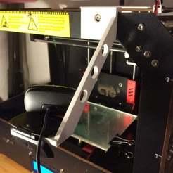 Descargar Modelos 3D para imprimir gratis Soporte de webcam para CTC o similar, willie42