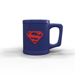 Download 3D model Superman mug, kirillxenon