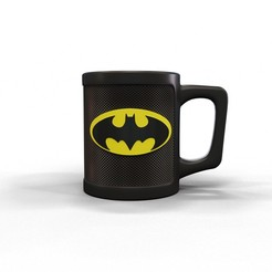 Download 3D printer files Batman mug, kirillxenon