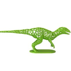 Download 3D printer templates Dinosaur Voronoi wireframe , kirillxenon
