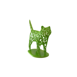 Download 3D printing templates Cat Voronoi wireframe, kirillxenon