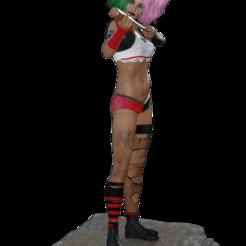 Descargar archivo 3D Harley Quinn 1, diegolopez2662