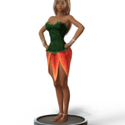 Download OBJ file Keiko, Forest Fairy • 3D printer model, diegolopez2662