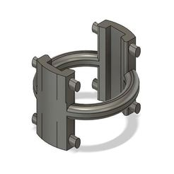 Imprimir en 3D gratis Soporte de sable de luz K3DC Serie A-C, K3DC