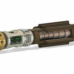 Descargar modelos 3D para imprimir Serie A Piezas internas/externas de sable de luz personalizables, K3DC