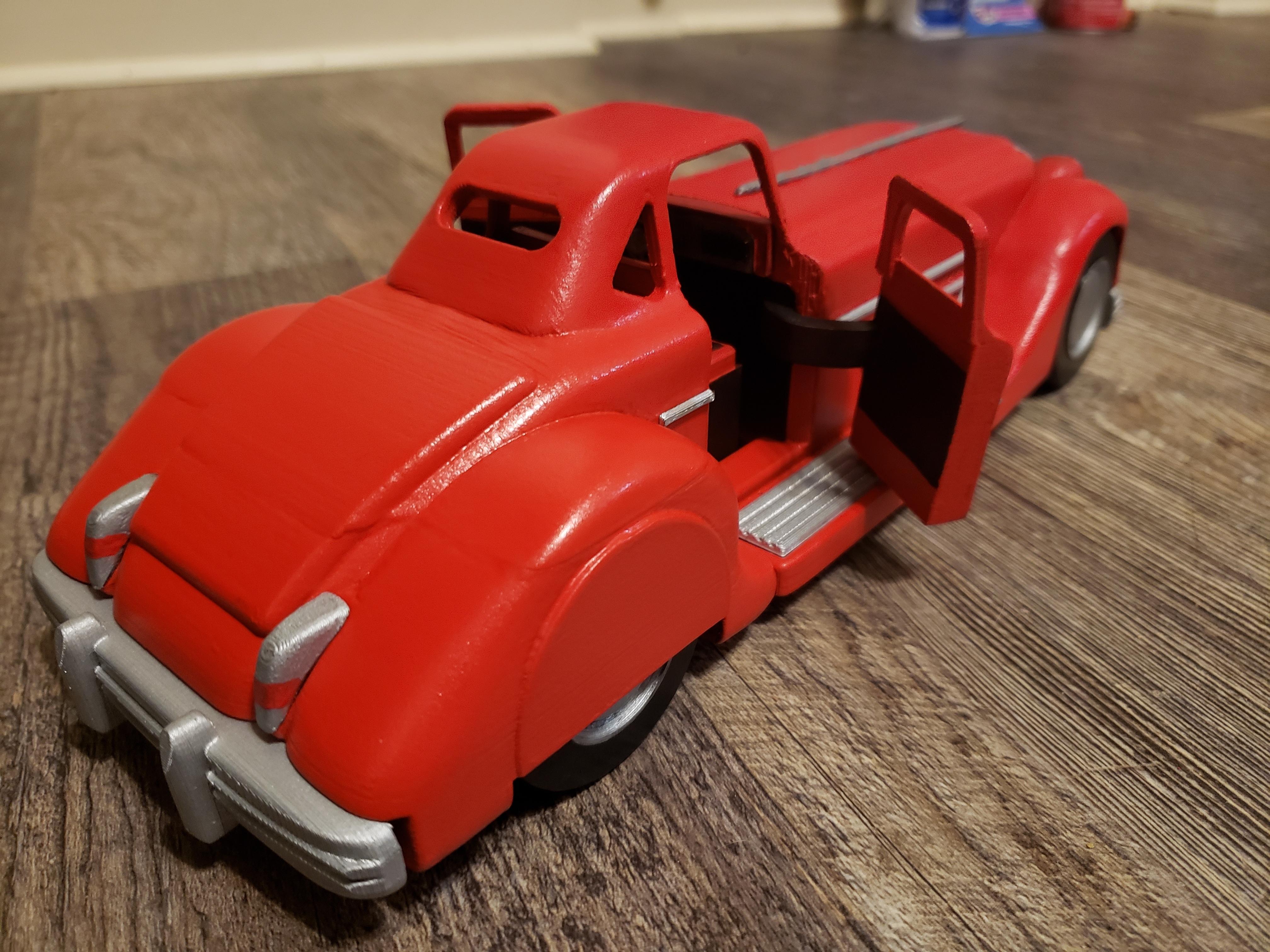 20201220_190221.jpg Télécharger fichier STL Bandes dessinées de détectives de voitures de collection Batman • Plan pour imprimante 3D, K3DC