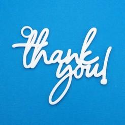 Descargar diseños 3D La etiqueta de regalo de agradecimiento..., CBDesigns