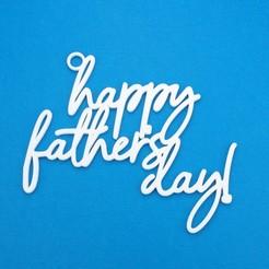 Descargar archivos STL Etiqueta de regalo del Día del Padre, CBDesigns