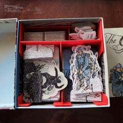 Download 3D model The Grizzled + At Your Orders box insert/organizer, endofturn