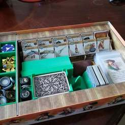 Download 3D printing designs Western Legends Inserts / Organizers, endofturn