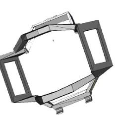 protectorGim_500.jpg Download STL file Mavic Air 2 gimbal guard • Design to 3D print, waldovasquez