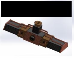Descargar modelos 3D steampunk odyssey luminaria de techo, kotoko