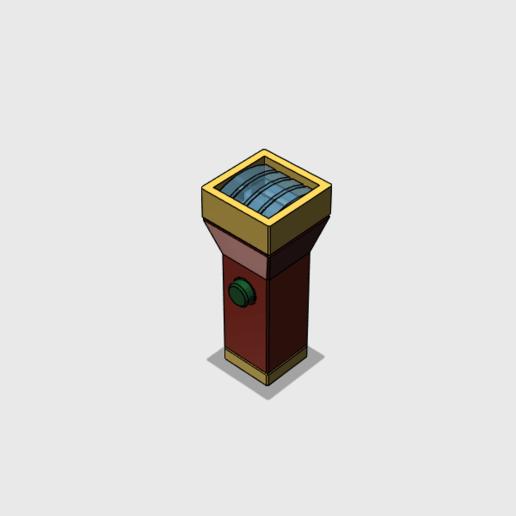 Télécharger fichier STL gratuit Rayon grossissant • Plan pour imprimante 3D, tfwsteamshield