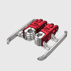 blades arms.png Télécharger fichier STL Lames de la guerre des combinateurs - Armes • Objet à imprimer en 3D, tfwsteamshield