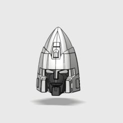 Télécharger fichier STL Tête de cône Tetrajet • Modèle à imprimer en 3D, tfwsteamshield