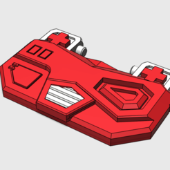 Download 3D printer designs Minerva chest for generations nightbeat, tfwsteamshield