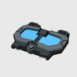 dead end chest idw.png Télécharger fichier STL Combiner Wars DeadEnd IDW chest • Objet pour impression 3D, tfwsteamshield