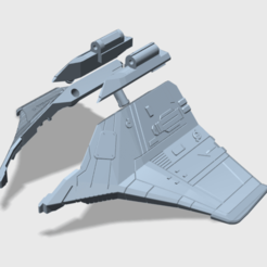 Descargar archivos 3D gratis Alas de Tetrajet gratis - genérico, tfwsteamshield