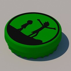 Download 3D printer designs RICK & MORTY GRINDER, KEH