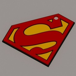 Descargar archivos 3D SUPERMAN KEICHAIN, KEH