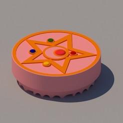 Descargar modelo 3D SAILOR MOON GRINDER, KEH