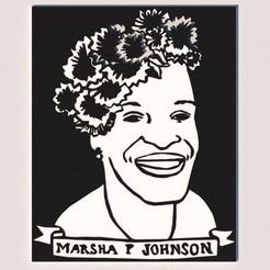 1.jpg Télécharger fichier STL gratuit MARSHA P JOHNSON • Plan à imprimer en 3D, KEH