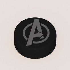 1.jpg Download STL file Grinder Avengers Logo • 3D printing design, KEH