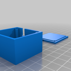 """Receiver_box_Gspeed_-_TGH.png Download free STL file receiver box for """"Team garage hack"""" dual servo mount and """"Gspeed"""" LCG chassis • 3D printing object, tmdario"""