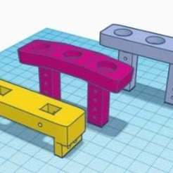 update_body_mount.jpg Download free STL file Front magnetic body mount for GSPEED Chassis TGH-V3 • 3D printing template, tmdario