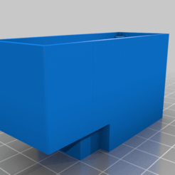 receiver_box_scx10ii.png Download free STL file receiver box and ESC reposition for SCX10II • 3D printable design, tmdario