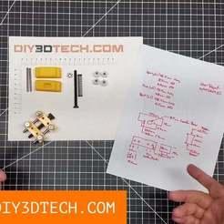 TV_MicroVise_v1.jpg Télécharger fichier STL gratuit Micro Vise ! • Modèle imprimable en 3D, DIY3DTech