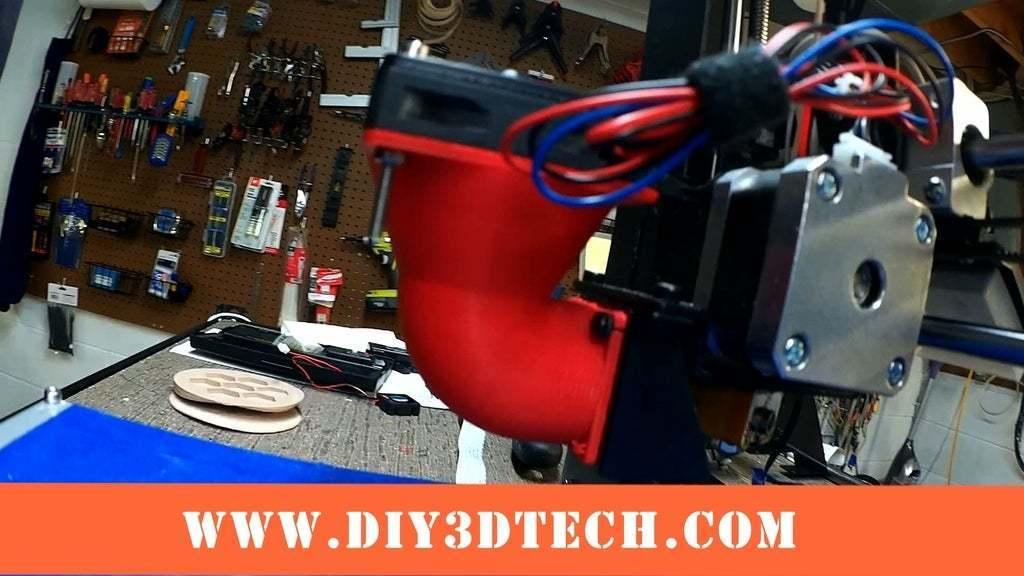 Fan_03a.jpeg Download free STL file Wanhao & Tevo Tarantula 30mm Fan to 50mm Fan Adapter • 3D printable design, DIY3DTech