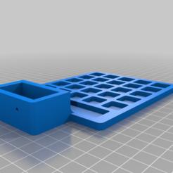 DeskStand_Top.png Download free STL file Modern Desktop / Shop Organizer! • 3D printer design, DIY3DTech