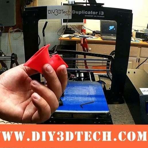 Fan_02a.jpeg Download free STL file Wanhao & Tevo Tarantula 30mm Fan to 50mm Fan Adapter • 3D printable design, DIY3DTech