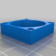 667ebd53b8c91baa097b69e430bcfdf8.png Download free STL file Wanhao & Tevo Tarantula 30mm Fan to 50mm Fan Adapter • 3D printable design, DIY3DTech