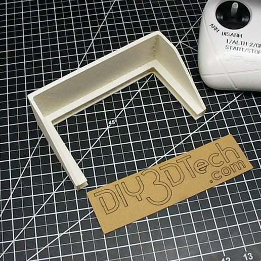 P1020681.JPG Download free STL file UPAir Sunshade! • 3D printer model, DIY3DTech
