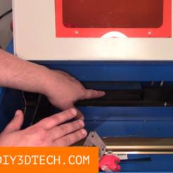 TV_Laser_Cover_01.png Download free STL file 3D Printable k40 Laser Vent Cover! • 3D print object, DIY3DTech
