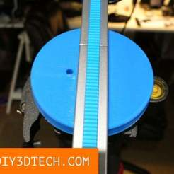TV_GearGrip_01a.jpg Download free STL file Geargrip Slider and Dolly Tripod Mount! • 3D printer model, DIY3DTech