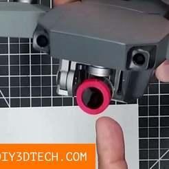 Mavic_Filter.jpg Télécharger fichier STL gratuit Porte-filtre Mavic Pro DIY ! • Design pour imprimante 3D, DIY3DTech