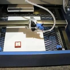 P1010921.JPG Télécharger fichier STL gratuit Outils d'alignement des miroirs de découpe et de gravure au laser CO2 chinois d'eBay • Objet pour imprimante 3D, DIY3DTech