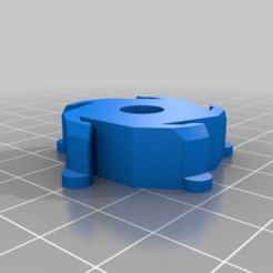 """Download free 3D print files Spool Hub Adapter to convert from 1.25"""" to 0.25"""" Rod, DIY3DTech"""