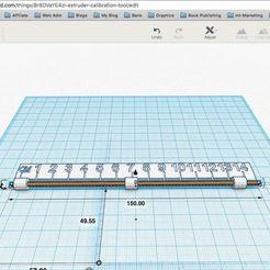 3D_Printed_Project_-_Extruder_Measurement_Tool_Part_One.jpeg Télécharger fichier STL gratuit Outil de calibrage des extrudeuses • Objet pour imprimante 3D, DIY3DTech