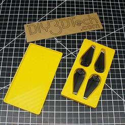 P1020893.JPG Télécharger fichier STL gratuit Boîte à accessoires DJI Spark Prop ! • Objet pour impression 3D, DIY3DTech