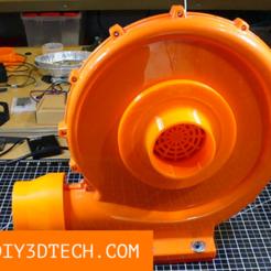 TV_Fan_Adapter_01.png Download free STL file CO2 Laser Inlet Adapter! • 3D printer model, DIY3DTech